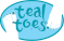 Teal Toes